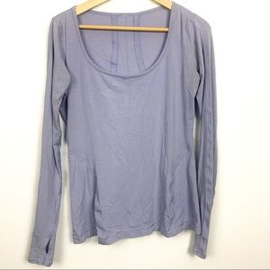 Lululemon shirt size M lavender Color